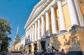 Здание Главного Адмиралтейства в СанктПетербурге