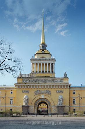 Здание Главного адмиралтейства в СанктПетербурге Здание